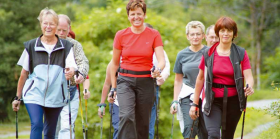 Nordic walking – chůze s holemi